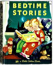 Vintage Children's Little Golden Book ~ BEDTIME STORIES ~ Gustaf Tenggren