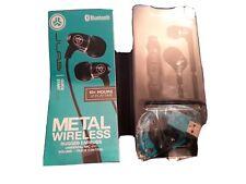 ORIGINAL -J Lab Metal Rugged Aluminium In-Ear + Mic Wireless Headphones/Black