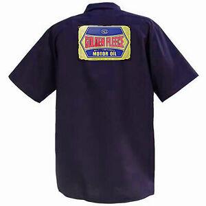 Golden Fleece Motor Oil  - Mechanics Graphic Work Shirt Short Sleeve