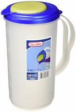 Sterilite 0482 Pitcher (Blue-Green / 2 Qt.-1.9L)