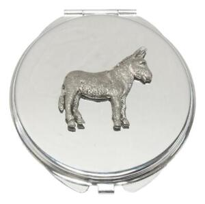 Donkey Compact Mirror Handbag Gift With Free Engraving 108