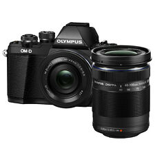 Olympus E-M10 Mark II (Black) 14-42mm + 40-150mm + 8GB + Bag