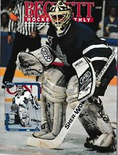 Beckett Hockey Magazine, Issue #14 December 1991 Grant Fuhr On Cover