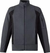 Microsoft MVP Logo Men's Zip Fleece Jacket by North End  Gray + Black  Size S