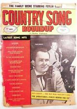 Vintage Country Song Roundup Magazine Ferlin Huskt Everly Brothers Jordanaires