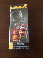 Disney Vinylmation JR Pairs 2 Simba Lion King and Mickey Mini Keychain - NEW