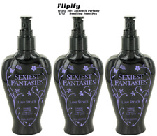 3 x Sexiest Fantasies Love Struck 7.35 oz Body Spray Mist LOT