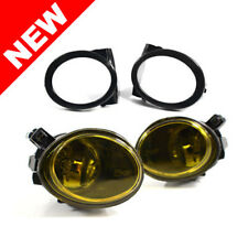 01-06 BMW E46 M3 Yellow Front Bumper Fog Lights w/ Covers