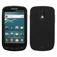 For Samsung Galaxy S Lightray 4G Rubber SILICONE Soft Gel Skin Case Cover Black