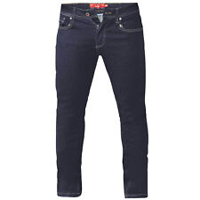 D555 Mens Cedric Big Tall King Size Tapered Fit Stretch Jeans Trousers Pants