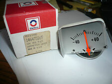 1968-1969 Camaro Console Amp Gauge P/N 6473265 NOS GM Part