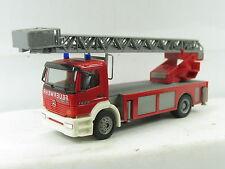 """Herpa? H0 1:87 Mercedes Benz Metz Drehleiterkran mit Korb """"Feuerwehr"""" (Ki420)"""