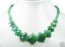 de Diseño Collar de Aventurina l-48cm PRECIOSO COLOR
