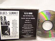 B.B. King w/ Robert Cray PLAYIN' WITH MY FRIENDS - Promo CD Single [1993]