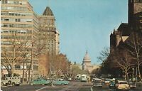 Washington, DC - Pennsylvania Avenue Looking Towards Capitol - CLASSIC CARS!!