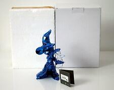 Statue Mickey Orlinski Disneyland Paris France Chrome bleu Etat NEUF - Sold out