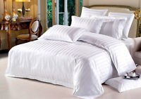 100%EGYPTIAN COTTON USA Bedding Set -) 1000TC White (king, queen, cal-king,full)