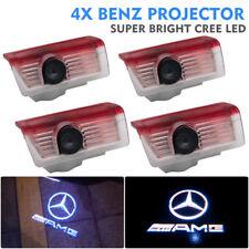 4x CREE LED Door Light For Mercedes Benz Puddle Ghost Laser Courtesy LOGO Light
