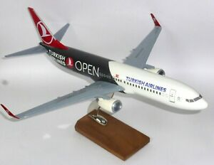 Boeing 737-800 Turkish Airlines Large Resin Collectors Model Scale 1:100
