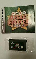 Texas Hold 'Em Poker Game Boy Gameboy Advance