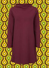 G645✪ Twiggy Kleid Vintage in A-Form 60er 70er Jahre Style Mod Sixties Gr. 38