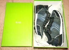 Hugo Boss UK;7 HBG Parkour Runn Knitted Navy Dark Blue Casual Sports Shoes;VGC!