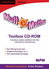 Mult-e-Maths Toolbox CD ROM, BEAM Education, Very Good condition, Book