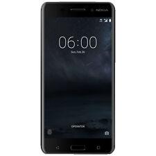 NOKIA 6 Dual-Sim, Smartphone, 32 GB, 5.5 Zoll, Schwarz, Dual SIM