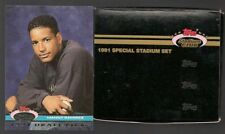 1991 Topps Special Stadium Club Set 200 cards includes Manny Ramirez rookie