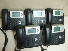 LOT OF 5 Yealink IP BUSINESS SYSTEM Phone HD Voice POE Display SIP-T23G 1 MONEY