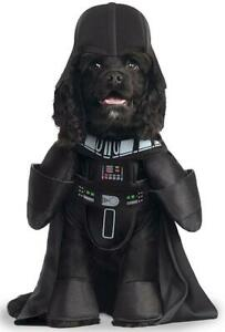 Darth Vader Star Wars Sith Lord Fancy Dress Up Halloween Pet Dog Cat Costume