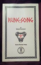 Rune-Song by Edred Thorsson SIGNED