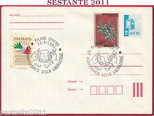 ITALIA FDC MAGYAR POST ANNIVERSARIO DELLA LIBERAZIONE 1985 ANNULLO MILANO T456