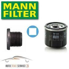 Mann-Filter Ölfilter Und Ölablass-Schraube Renault Twingo Dacia Logan 1.2 16V