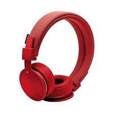 Auricolari e cuffie rosso audio portatile con riduzione del rumore