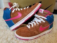 "Nike Dunk High Pro SB ""Mr. Todd Bratrud"" 305050-261 Size 10 Mint Condition RARE"