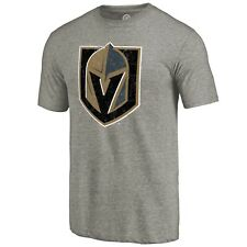 Vegas Golden Knights Men's Fanatics Grey Primary Team Logo T-Shirt NHL 5X-Large