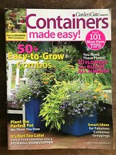 Garden Gate Magazine: Containers Made Easy Volume 3 Gardening Special Issue
