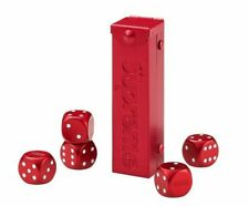 More details for supreme aluminium dice set in red box. ✅ in hand ✅ brand new.