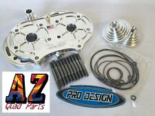 Yamaha Banshee Billet Pro Design Cool Head W/ 21cc 21 Domes O-rings Studs ORings