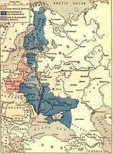 6x4 Photo ww1DB6 World War 1 Map Showing The Brest Litovsk Treaties 00 1 7