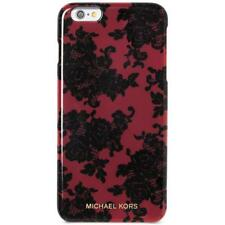 MICHAEL KORS~CHERRY Floral Lace~iPhone 6 - 6S Snap On Cell Phone Case~45.00~NIB!