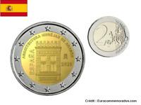 2 Euros Commémorative Espagne 2020 Aragon UNC