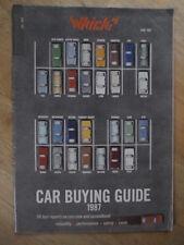 Che? guida per l'acquisto di auto-GIUGNO 1987
