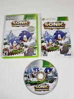 Sonic Generations (Microsoft Xbox 360, 2011) Complete w/ Manual, Tested