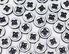 Black And White Cross Buttons Four Holes Blouse Shirt Small Round DIY 11mm 20pcs