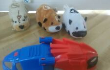 3 Toy Kung Zhu Hampsters By Cepia Battery Operated 2008