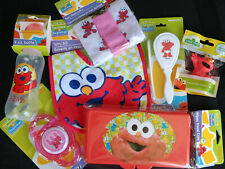 Sesame Street Sesame Beginnings Elmo Baby Gift Set 7piece Free Shipping!