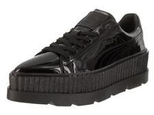 wholesale dealer ab4b0 06a40 PUMA by Rihanna Pointy Creeper 36627001 Black Glossy Leather Shoes Medium  Women Blacks 5.5