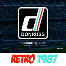 2020 Donruss NASCAR Racing RETRO 1987 Cards Panini # 116-200